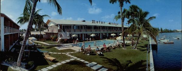 Carriage House Motor Lodge, 1180 North Federal Highway Fort Lauderdale Florida
