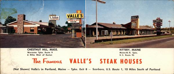 The Famous Valle S Steak Houses Worcester Tpke Route 9