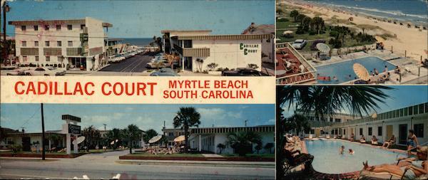 Cadillac Court North Ocean Blvd 22nd Ave Myrtle Beach Sc