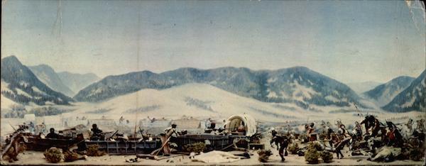 The Wagon Box Fight Buffalo, WY