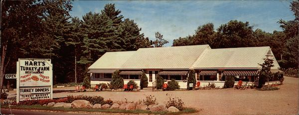 Hart's Turkey Farm Restaurant Inc, Junctions Rt 3 & 104 Meredith New Hampshire