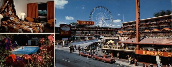 Honeymoon City Motel, 4943 Clifton Hill Niagara Falls New York Canada