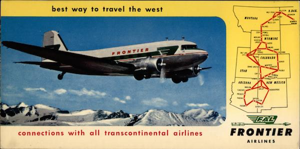 Frontier Airlines Aircraft