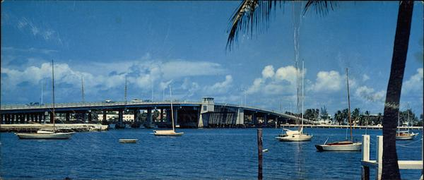 The New Las Olas Bridge Fort Lauderdale Florida