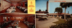 Tower View Restaurant, U. S. 27 Large Format Postcard