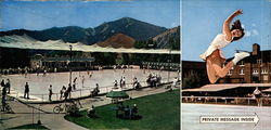 Sun Valley's Open Air Olympic Size Ice Rink
