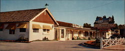 El Ranch Hotel, Rt. 395 North Large Format Postcard