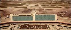 Miami International Airport Hotel, P. O. Box 2094 Large Format Postcard