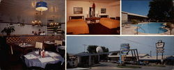 Dearborn Motel Friendship Inn, 25925 Michigan Ave Large Format Postcard
