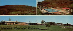 Wattstull Motel And Restaurant Large Format Postcard
