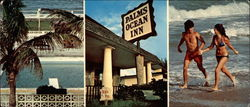 Palm's Ocean Inn, 501 North Miramar Ave Large Format Postcard