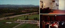 Motel 81 And Dining Room Large Format Postcard
