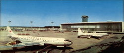 Moscow Domodedovo Airport Large Format Postcard