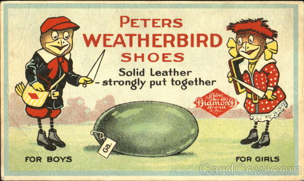 Peters Weatherbird Shoes Advertising