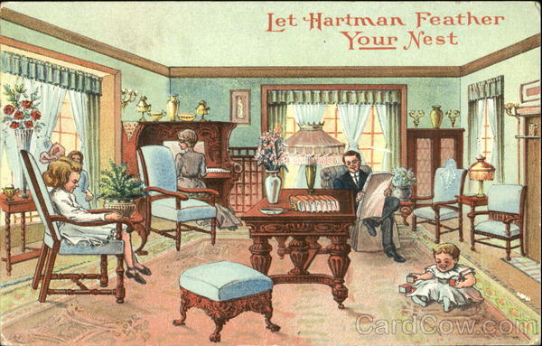 Let Hartman Feather Your Nest Advertising
