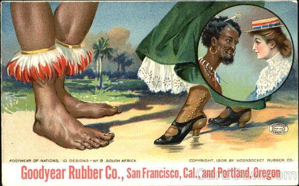 Footwear Of Nations South Africa Advertising
