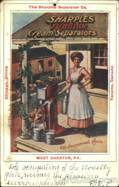 The Dairymaid's Choice Advertising
