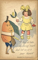 Take, Oh Take My Loving Heart And Let Us, As A Pear Depart