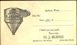 H. J. Burns, Mansfield Ave.