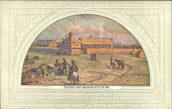 The First Fort Dearborn Built In 1803