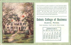 Dubois College of Business January