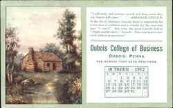 Dubois College of Business October 1912