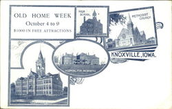 Old Home Week Postcard