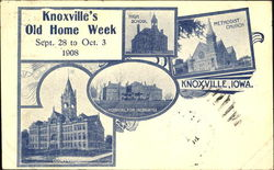 Knoxville's Old Home Week Postcard