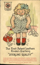 The First Patent Leathers Kinder-Gartens Sterling Quality