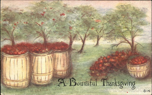 A Bountiful Thanksgiving - Apples Fruit