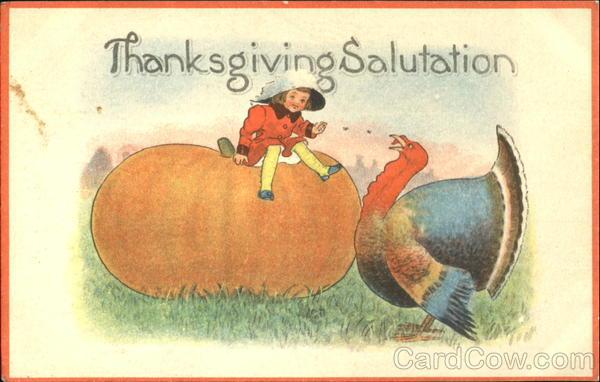 Thanksgiving Salutation Children
