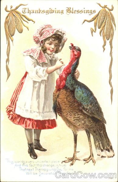Thanksgiving Blessings Children