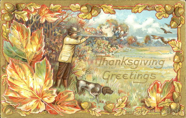Thanksgiving Greetings Men