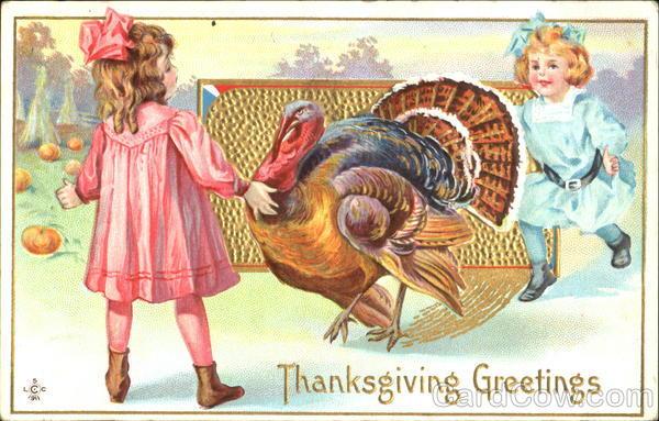 Thanksgiving Greetings Children