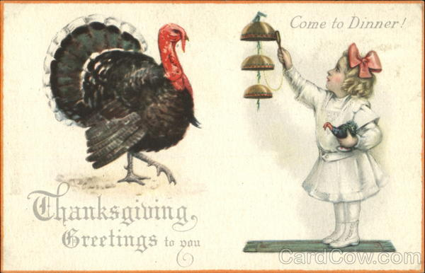 Thanksgiving Greetings To You Children