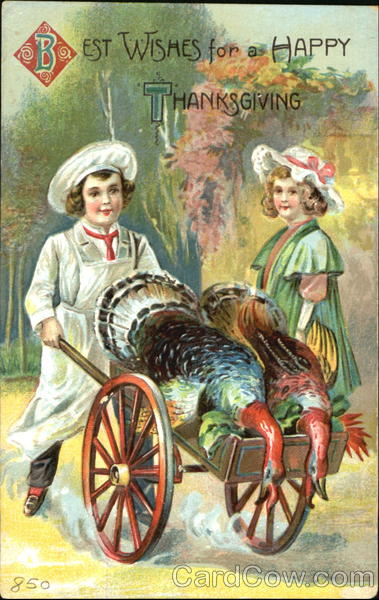 Best Wishes For A Happy Thanksgiving Children