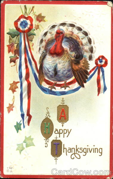 A Happy Thanksgiving Day Patriotic
