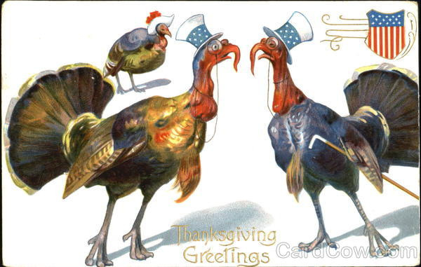 Thanksgiving Greetings Patriotic