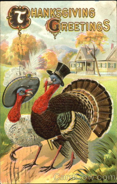 Thanksgiving Greetings Fantasy