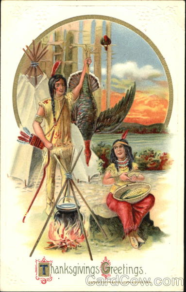 Thanksgiving Greetings Indians