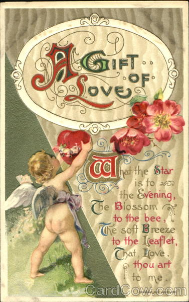 A Gift Of Love Cupid