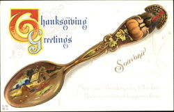 Thanksgiving Greetings Souvenir