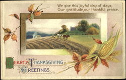 Hearty Thanksgiving Greetings