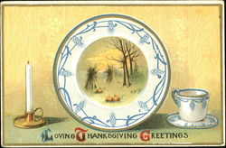 Loving Thanksgiving Greetings
