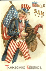 Uncle Sam Thanksgiving Greetings