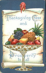 Thanksgiving Cheer And Prosperity To All