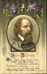 Alfred Tennyson - A Happy Birthday