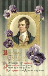 Robert Burns - Birthday Greetings