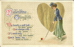 Valentine Thoughts Postcard