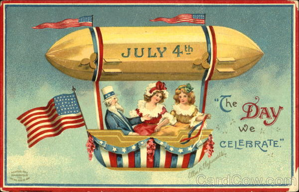 July 4Th The Day We Celebrate Ellen Clapsaddle 4th of July